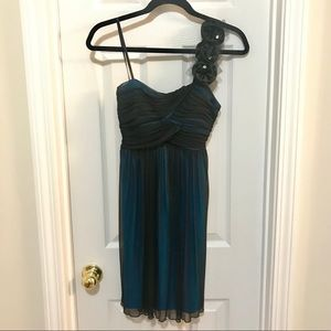 Homecoming/semi-formal one shoulder dress